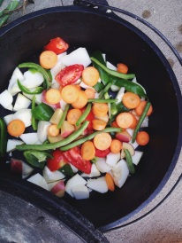 Garden vegetable stew