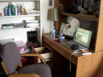 Dorm Desk in Read