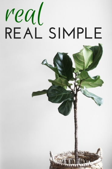 Real Real Simple: Tips for living a truly simplified life