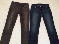 My only two pairs of jeans
