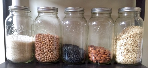 Ball Jars Dry Goods