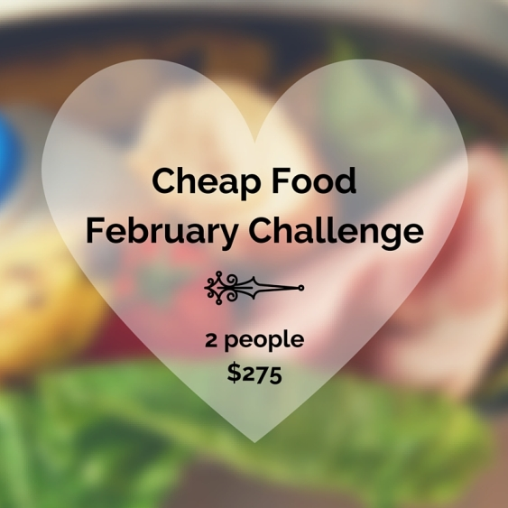 Cheap Food February